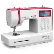 Bernette Sew&GO 8 Macchina da Cucire con 197 Punti di cucito - Quilt & Patchwork - Swiss Design
